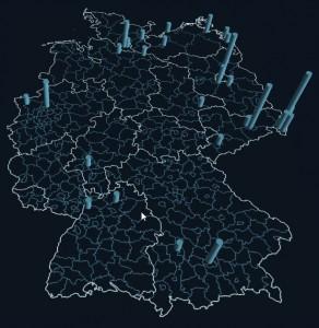 Verteilung Riccius Deutschland